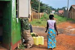 坎帕拉,乌干达 免版税图库摄影