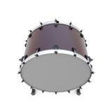 大鼓被隔绝的打击乐器 免版税库存图片