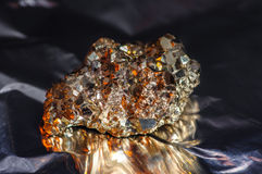 未加工的硫铁矿 库存图片