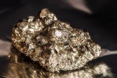 未加工的硫铁矿 免版税库存图片