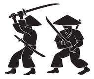 самураи Стоковая Фотография