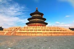Ναός του ουρανού στο Πεκίνο, Κίνα Στοκ φωτογραφία με δικαίωμα ελεύθερης χρήσης