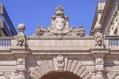 宫殿皇家斯德哥尔摩 免版税库存照片