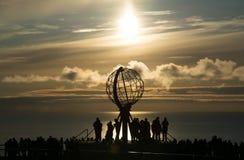 海角北部挪威 免版税图库摄影