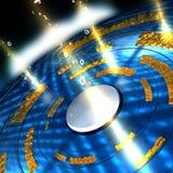 поток информации Стоковая Фотография RF