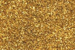 Предпосылка яркого блеска золота Стоковые Изображения RF