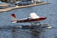 英王乔治一世至三世时期空中航线水上飞机 库存图片