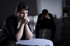 Молчаливые пожененные пары Стоковое Изображение