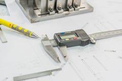 Инструменты инженерства Стоковые Изображения