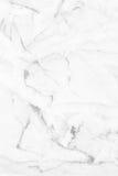 Άσπρη μαρμάρινη σύσταση, λεπτομερής δομή του μαρμάρου σε φυσικό που διαμορφώνεται για το υπόβαθρο και σχέδιο Στοκ Φωτογραφία