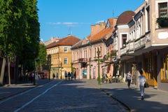 考纳斯,立陶宛 免版税库存图片