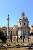 罗马广场罗马意大利 免版税图库摄影