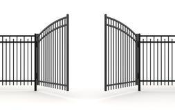 τρισδιάστατη πύλη Στοκ Φωτογραφία