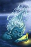 Фея и гном моря Стоковое Фото
