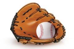 Перчатка бейсбола Стоковое фото RF