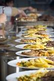 еда доставки с обслуживанием Стоковые Изображения
