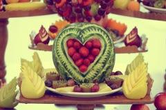 Μπουφές φρούτων Στοκ εικόνα με δικαίωμα ελεύθερης χρήσης