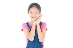 马来的女孩 免版税库存照片