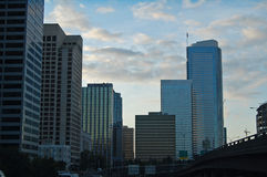 Многоэтажные здания в Сиэтл Стоковая Фотография