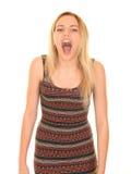 Предназначенный для подростков кричать девушки Стоковое Изображение