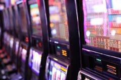 赌博娱乐场老虎机 库存图片