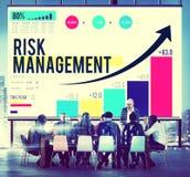 Концепция безопасности планирования возможности управление при допущениеи риска Стоковые Фотографии RF