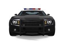 полиции изолированные автомобилем Стоковое фото RF