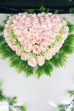 Розовая корзина цветка Стоковая Фотография RF
