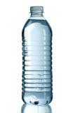 被装瓶的查出的水白色 免版税库存照片