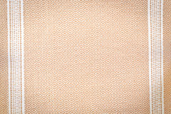 布朗鞋带织品丝绸背景纹理 免版税库存图片