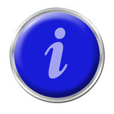 按钮信息 免版税图库摄影