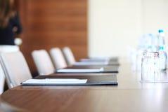 Пустой конференц-зал перед встречать Стоковое Фото