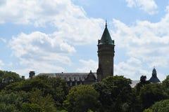卢森堡市中心 免版税库存照片