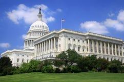 国会大厦详述我们 免版税库存图片