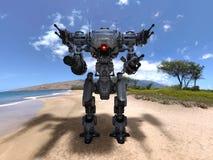 争斗机器人 库存图片