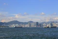 港口香港 库存照片