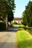 Загородный дом, сельский к югу от Франции Стоковые Фото