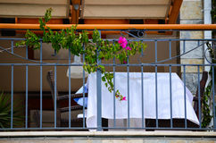 Романтичная таблица обедающего/обеда Стоковые Фотографии RF