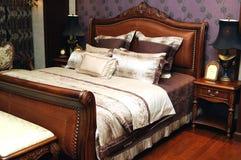 卧室 库存图片