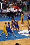 квалифицировать игр баскетбола олимпийский Стоковые Фотографии RF