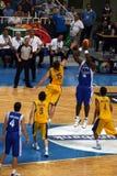 квалифицировать игр баскетбола олимпийский Стоковые Изображения RF