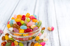 软心豆粒糖的部分 免版税库存图片