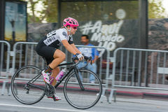 骑自行车者竞争 库存图片