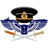 俄国海军的象 免版税库存图片