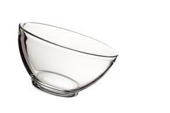 Κενό κύπελλο γυαλιού που απομονώνεται στο άσπρο υπόβαθρο Στοκ εικόνες με δικαίωμα ελεύθερης χρήσης