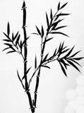 艺术中国墨水绘画 图库摄影