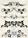 декоративные элементы Стоковое Изображение