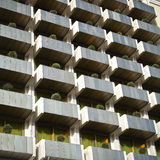 公寓现代模式 免版税库存图片