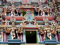 印度神雕象 库存照片