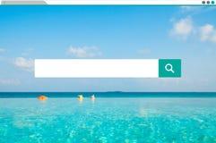 Αναζήτηση που ψάχνει τις πληροφορίες Διαδίκτυο που μοιράζονται την έννοια Στοκ εικόνα με δικαίωμα ελεύθερης χρήσης